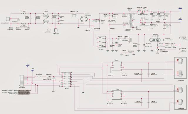 esquema fuente samsung syncmaster 940