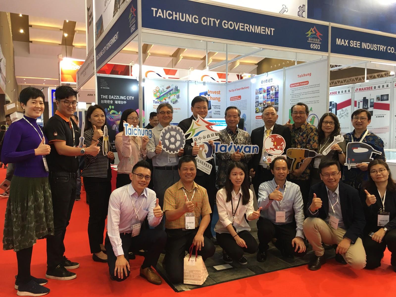 中市府率手工具產業前進印尼 拚國際訂單同迎2020臺灣燈會