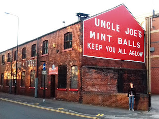 Uncle Joe's Mint Balls factory in Wigan