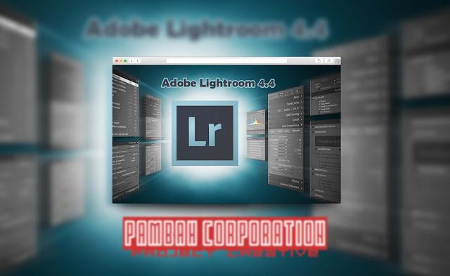 Download Adobe Photoshop Lightroom 4.4 with Keygen Patch