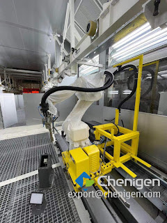 Customized Cleanroom Coverall for Robotic Arm