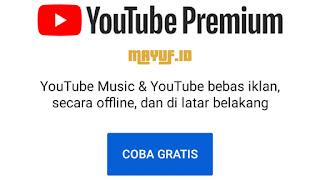 Cara Mendapatkan YouTube Premium Gratis Trial 1 Bulan Terbaru