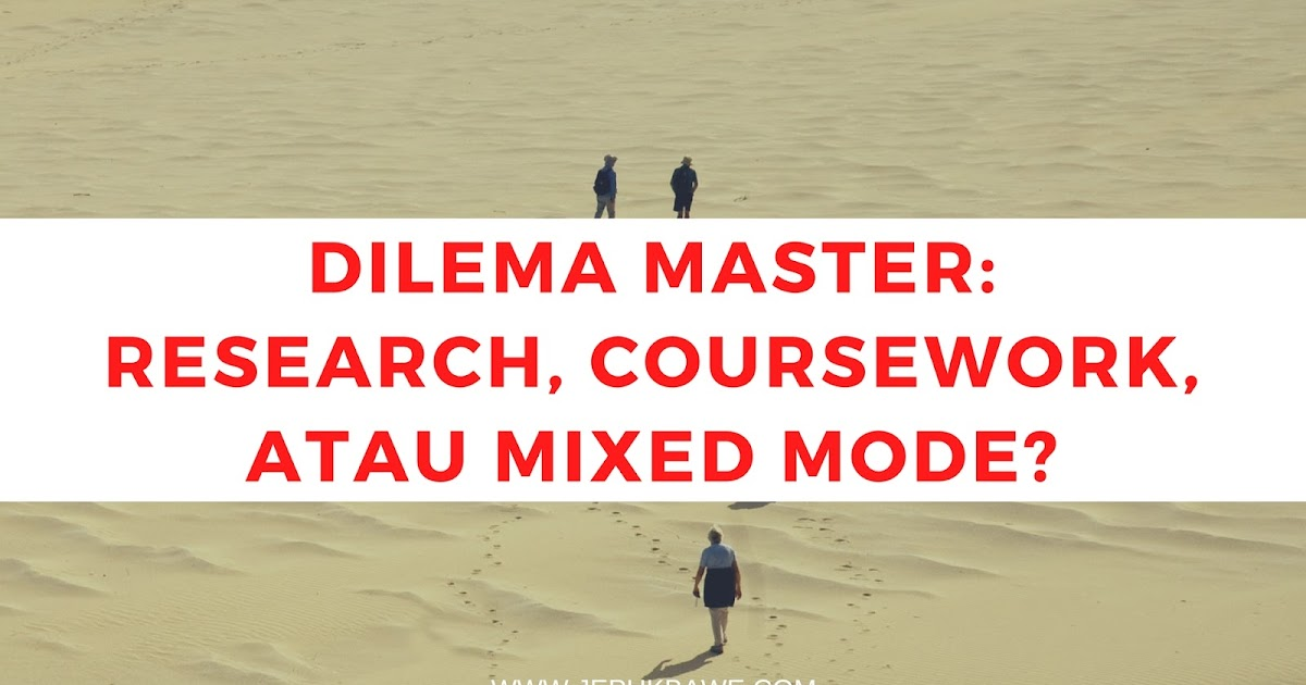 Apa itu master coursework