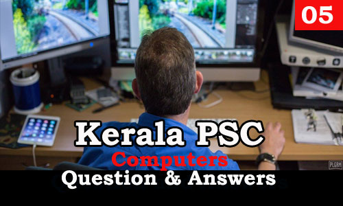 Kerala PSC Computers Question and Answers - 5