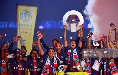 باريس سان جيرمان الدوري الفرنسي 2019