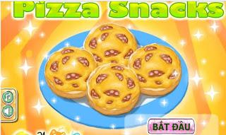 Game pizza xúc xích ngon