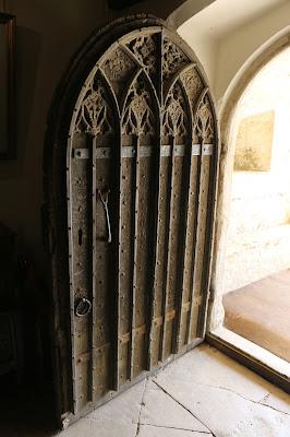 Front door, Athelhampton House, Dorset