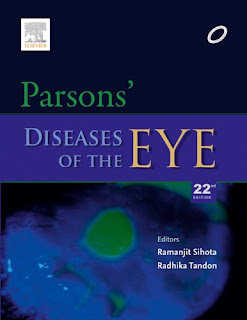 Parsons' Diseases of the Eye - Ramanjit Sihota, Radhika Tandon