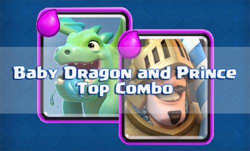 Strategi Serangan Prince dan Baby Dragon Arena 2 Clash Royale