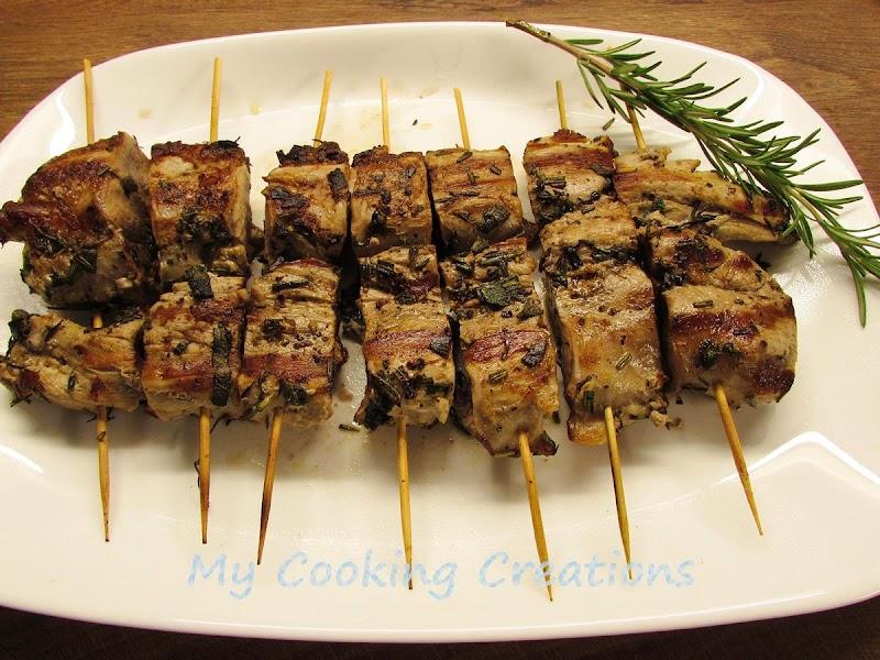 Свинско бонфиле на скара * Filetto di maiale alla piastra