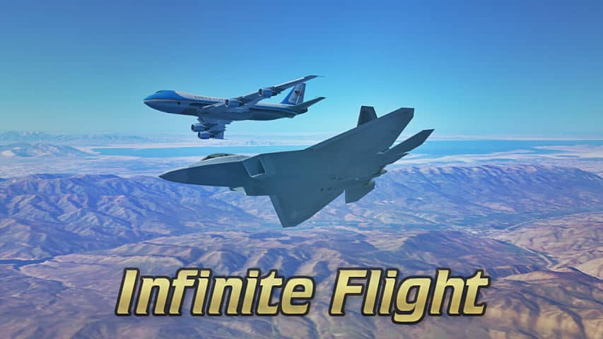 Simulador de vuelo Infinite Flight para Android