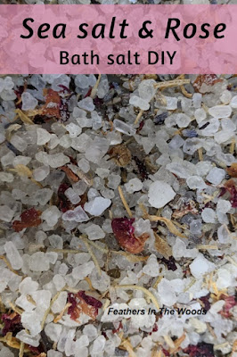 rose sea salt bath soak recipe
