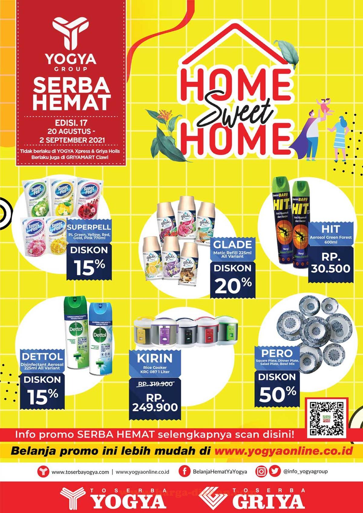 Katalog Promo Toserba Yogya Terbaru 20 Agustus - 2 September 2021