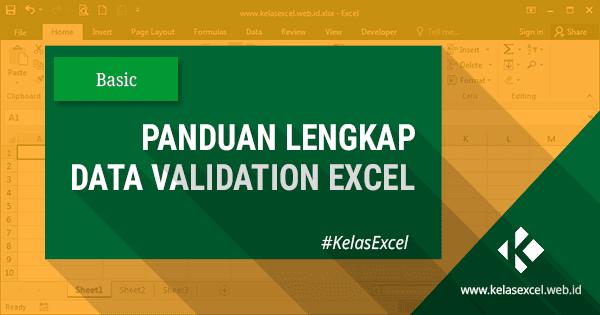 Data Validation Excel - Cara Membatasi Nilai Pada Excel