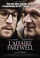 """Carátula del DVD: """"El caso Farewell"""""""