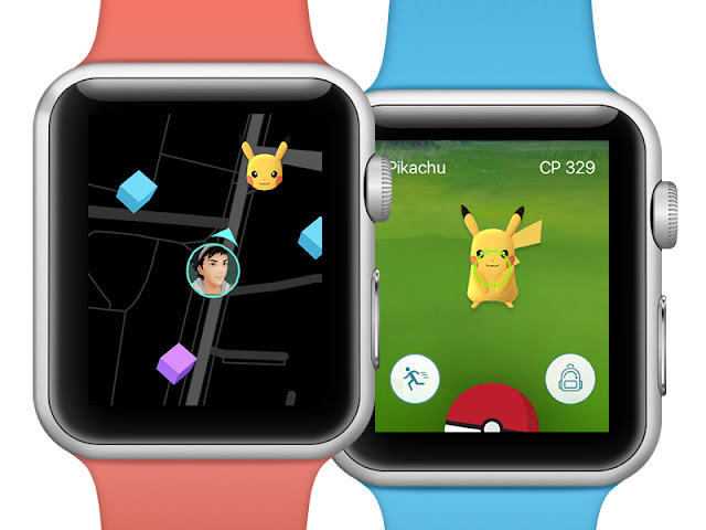 A falta de Pokemon Go Plus, Apple Watch hará su trabajo.
