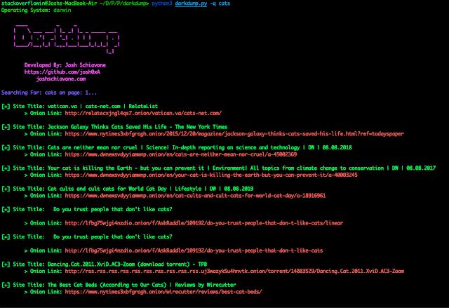 طريقة تثبيت أداة Darkdump