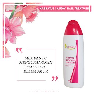 NURRAYSS HABBATUS SAUDA HAIR TREATMENT