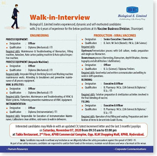 biological-e-limited-walk-in-jobs-for-production-viral-vaccines