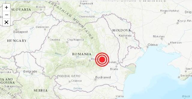 CUTREMUR în România! Ne-a zguduit serios... Vezi ce magnitudine a avut!