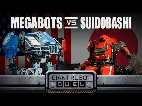 Giant Robots From Japan And The US Just Battled And It's Not What We Expected