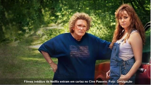 Três filmes inéditos da Netflix entram em cartaz
