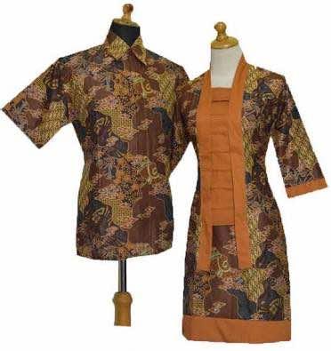 Gaun batik menjadi salah satu perkembangan desain batik yang ada