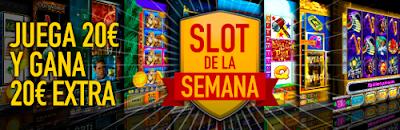 casinobarcelona Slot de la semana gana 20 euros seguros 18-24 julio
