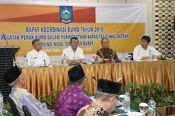 Rakor Pembukaan Koordinasi BUMD 2018, Gubernur Ajak Seluruh Jajaran Tingkatkan Kemajuan Dunia Usaha