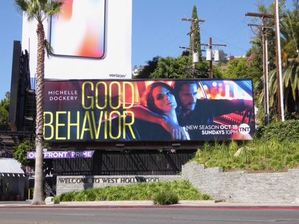 Good Behavior season 2 billboard