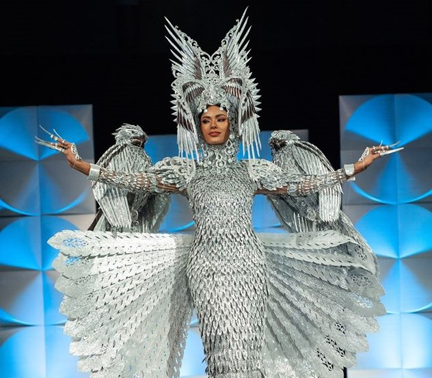 Miss Philippines won Miss Universe 2019 National Costume Competition