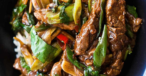 Spicy Asian Ginger Beef Stir Fry Recipe