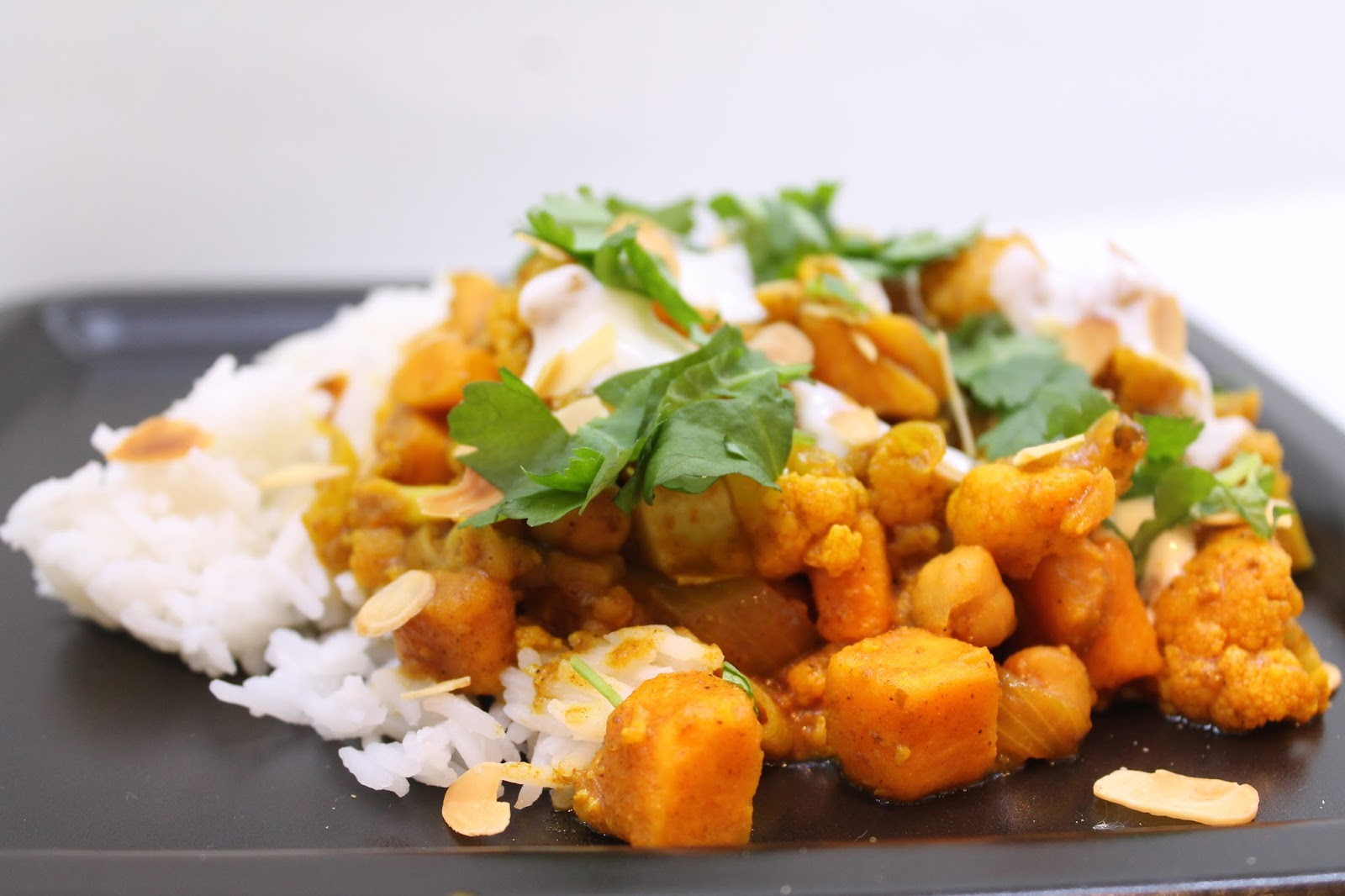 Ninnin Köökki Veggie Curry Inspired By Jamie Oliver
