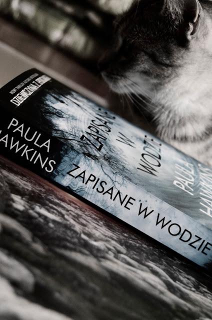 zapisane w wodzie | książka | recenzja | papier | kot
