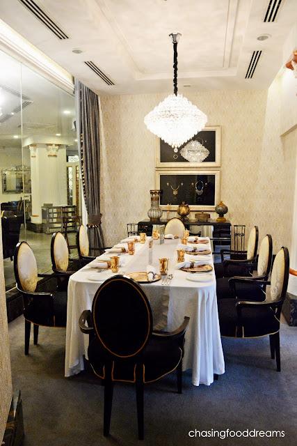 Polished Dining Room Chandelier Transitional