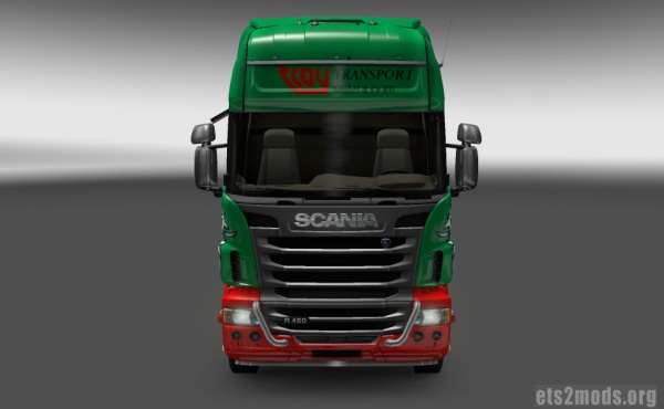 Troy Transport Skin for Scania