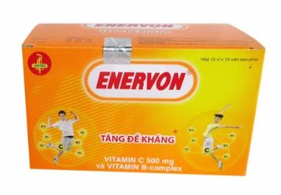 Enervon - Manfaat, Dosis, Efek Samping dan Harga