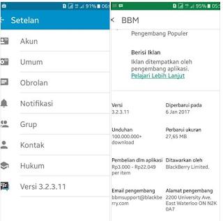 BBM OFFICIAL V3.2.3.11 Apk Terbaru