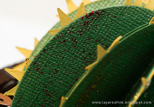 Layers of ink - Glittery Cactus