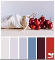 color palette grey blue red