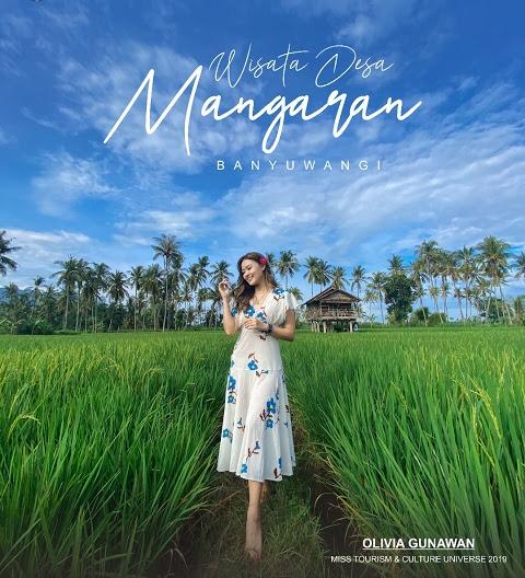 Spot cantik Sawah Mangaran Banyuwangi