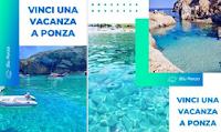 Logo Vinci il tuo soggiorno a Ponza : partecipa gratis !