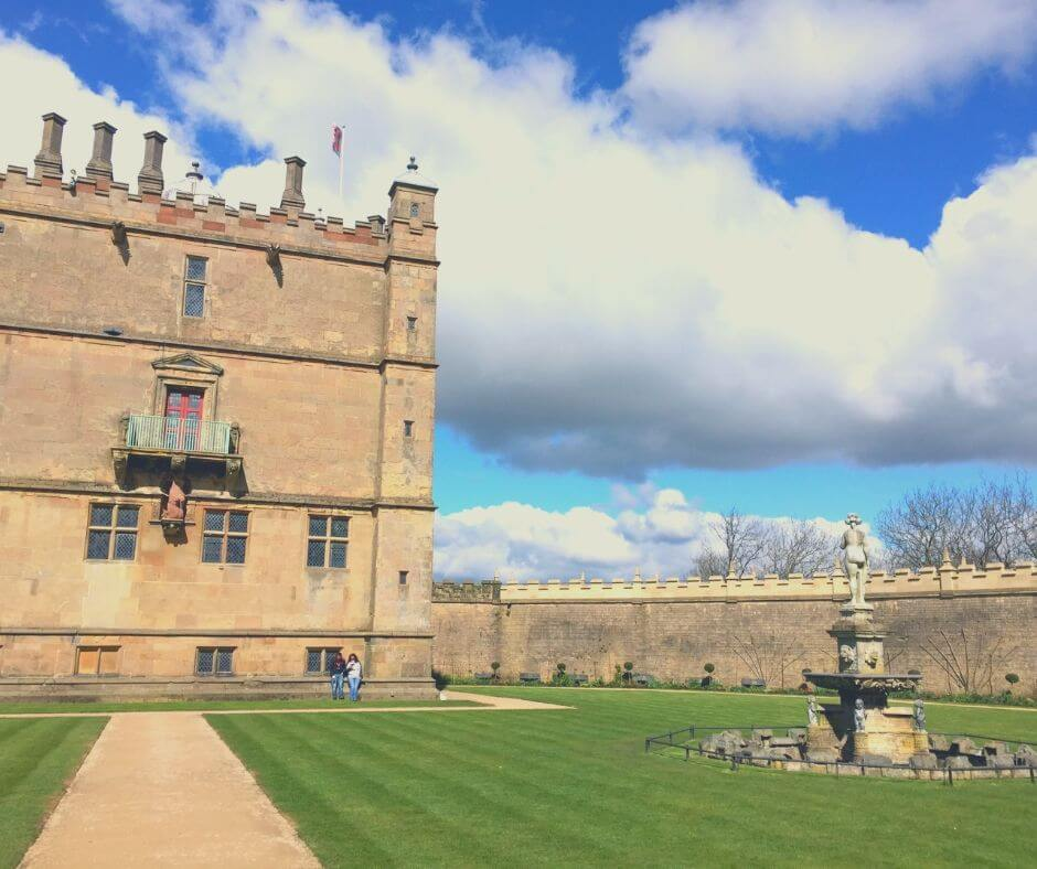 Fascinating English Heritage Castles To Visit In The East Midlands | Walk along the wall and see far into the distance.