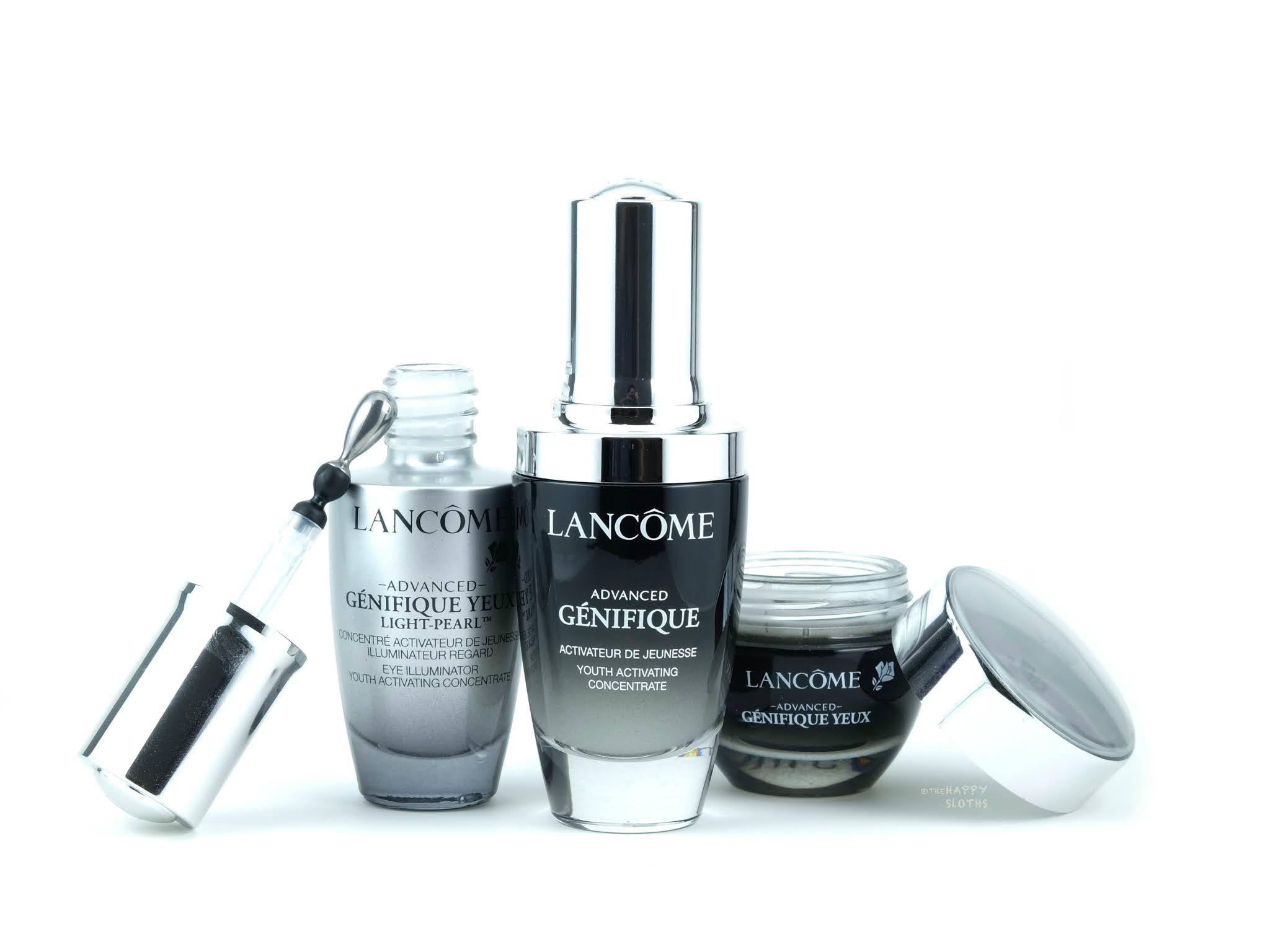 Lancôme | *NEW* Advanced Génifique Youth Activating Serum, Advanced Génifique Yeux Light-Pearl Serum & Eye Cream: Review