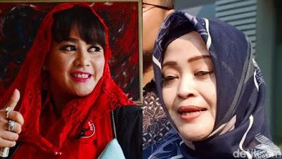 Dewi Tanjung-Fahira Idris (Foto: dok. detikcom)