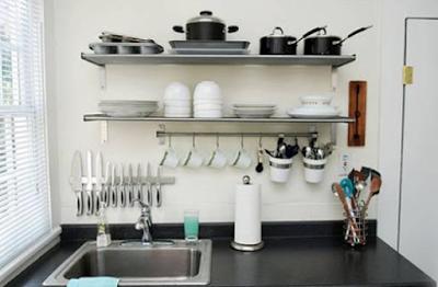 10 Tips Penyimpanan Barang di Dapur Mungil
