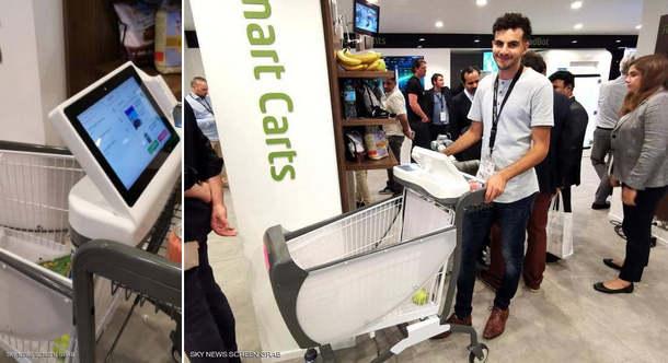 شاب مصري يبتكر عربة ذكية ستغير شكل التسوق