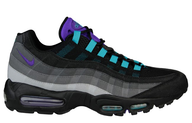... store this footlocker exclusive black grape edition of the classic air  max 95 is sure to b8b132d5e