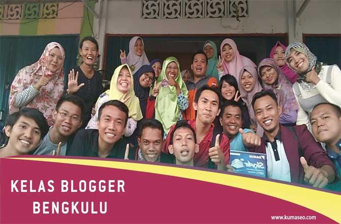 Kelas Blogger Pertama Bersama Blogger Bengkulu