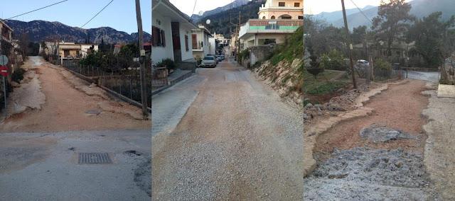 Βομβαρδισμένο δρόμο από ημιτελή έργα του αποχετευτικού καταγγέλλουν κάτοικοι στην συνοικία άνω Σαρδάκια Παραμυθιάς (+ΦΩΤΟ)